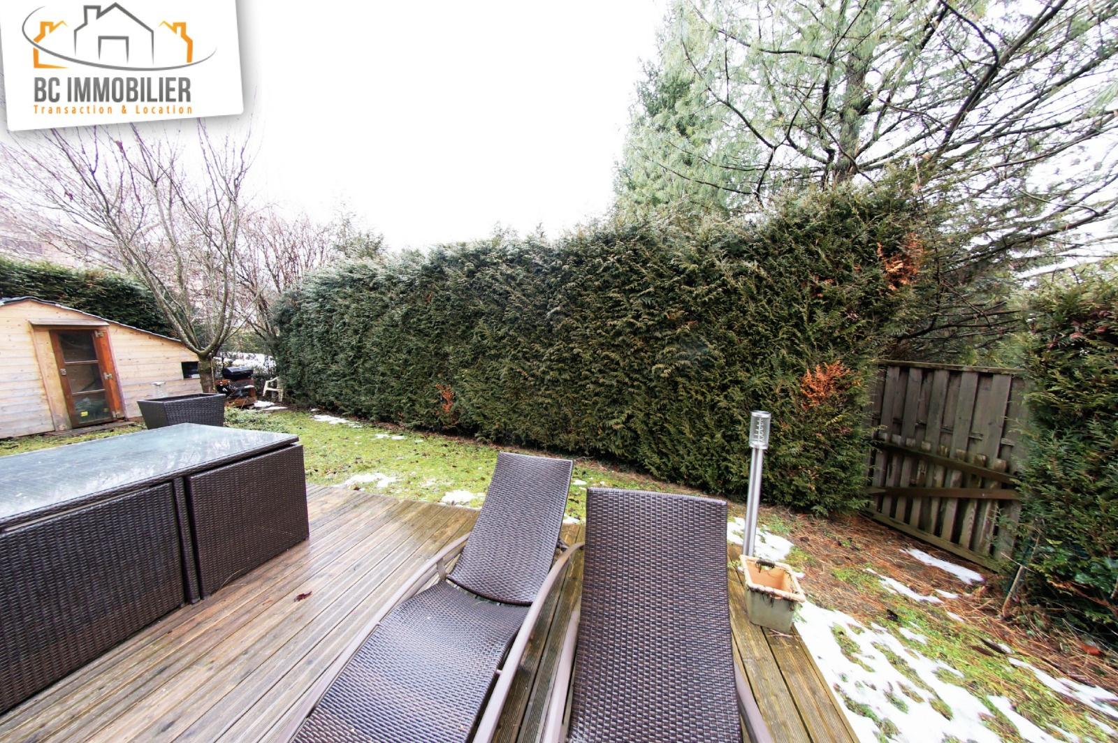 Vente magnifique t2 de 49m2 avec jardin de 120m2 for Jardin 120m2